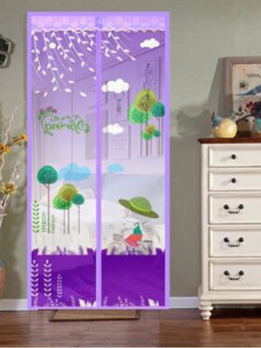 Door Curtain Mosquito Proof Yarn Curtain ( Including Pushpin )