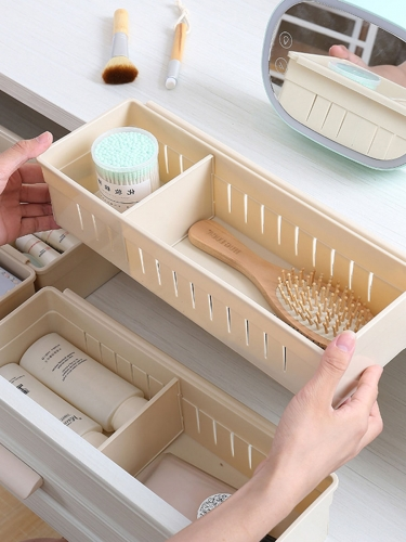 1 Piece Bedroom Drawer Box Simple Style Wooden Divided Organizer Set