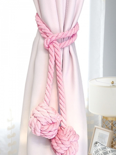 1 Piece Curtain Tie Solid Tassel Decorative Curtain Accessories.