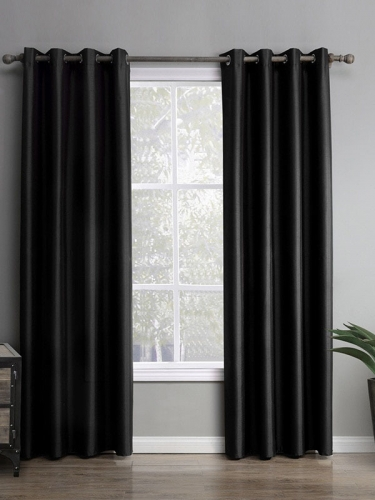 Black Anti-Light Curtain (Single Layer)