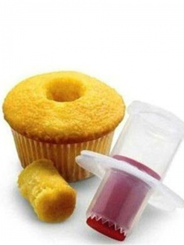 1 Pc Cup Cake Core Remover Creative Dessert DIY Hole Digger Convenient Baking Tool