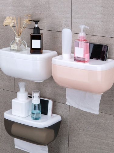 1 Piece Bathroom Tissue Organizer Simple and Practical Organizer