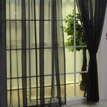 Curtains solid color minimalist style light weight accessories.