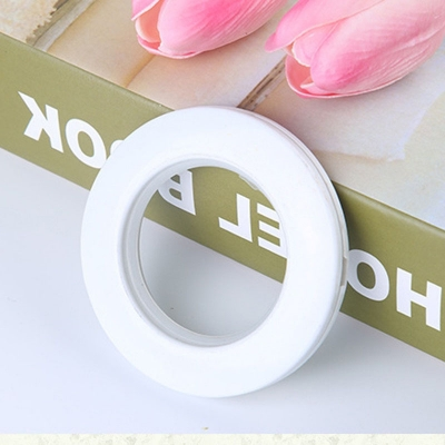 1Pc Curtain Ring Simple Plastic Circle Curtain Accessory