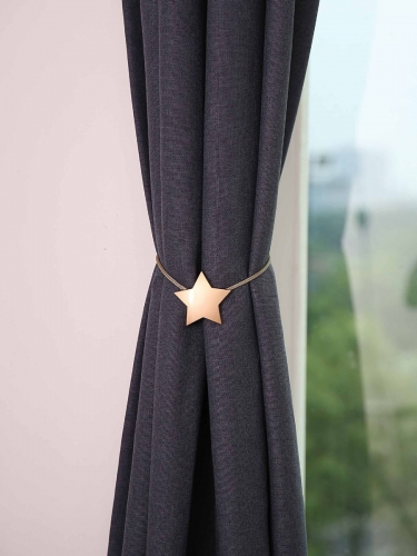 Curtain Buckle Simple Style Five Pointed Star Magnet Tieback Curtain Accessory